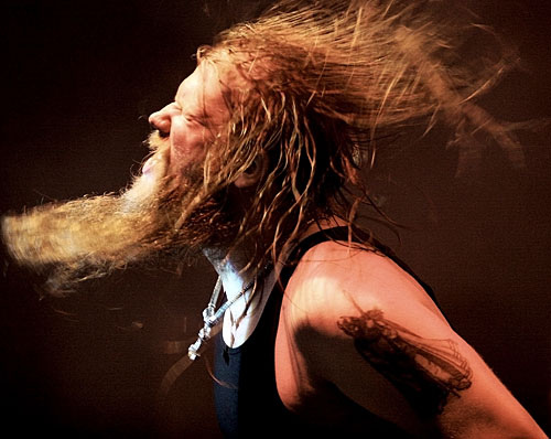 Johan Hegg from Amon Amarth Amon Amarth is probably the manliest band